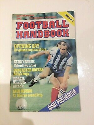 The Marshal Cavendish Football Handbook Part 60 • 3.50£