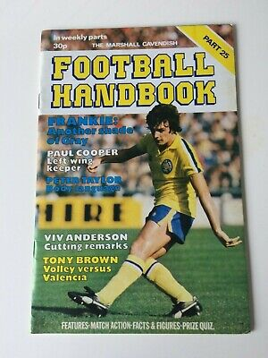 The Marshal Cavendish Football Handbook Part 25 • 3.50£