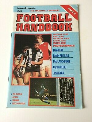 The Marshal Cavendish Football Handbook Part 9 • 3.50£