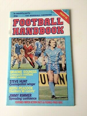 The Marshal Cavendish Football Handbook Part 15 • 3.50£