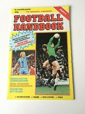 The Marshal Cavendish Football Handbook Part 4 • 3.50£