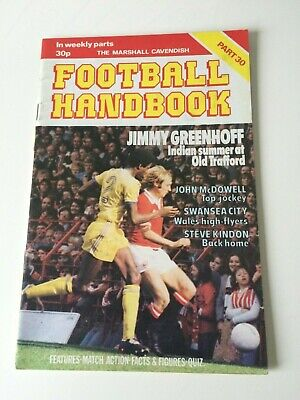 The Marshal Cavendish Football Handbook Part 30 • 3.50£