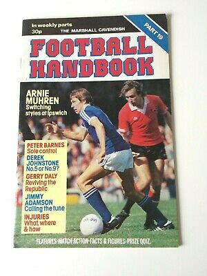 The Marshal Cavendish Football Handbook Part 19 • 3.50£