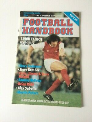 The Marshal Cavendish Football Handbook Part 29 • 3.50£