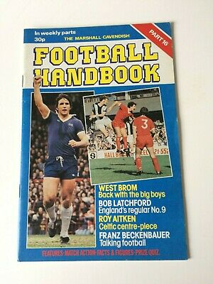 The Marshal Cavendish Football Handbook Part 16 • 3.50£