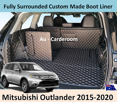 AU128 • Buy Mitsubishi Outlander 2015-2020 Custom Made Trunk Boot Mat Liner Cargo Cover