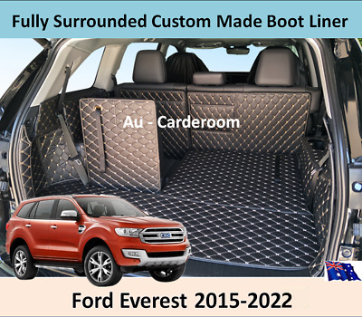 AU128 • Buy Ford Everest 2015-2020 Custom Made Trunk Boot Mats Liner Cargo Mat Cover