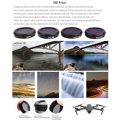 AU62.96 • Buy For DJI MAVIC Pro Drone Camera Lens Filters ,MCUV CPL ND4 ND8 ND16 ND32