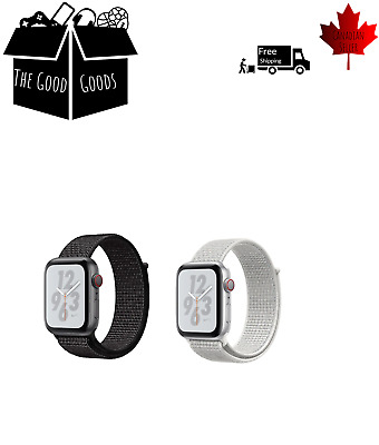 $ CDN7.65 • Buy Sports Loop Band For Apple Watch Nylon Woven Strap For IWatch Series 5 4 3 2 1