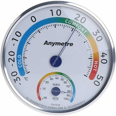 Indoor Outdoor Analog Thermometer Hygrometer Temperature Humidity Tester Meter • 6.99£
