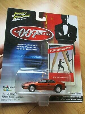 $ CDN30 • Buy Lotus Esprit Turbo – For Your Eyes Only, Release #2 Johnny Lightning 007 40th An