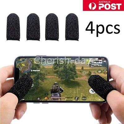 AU7.95 • Buy 4X Finger Sleeve Touch Screen Non-slip Thumb Breathable Sleeve For Mobile Game Z