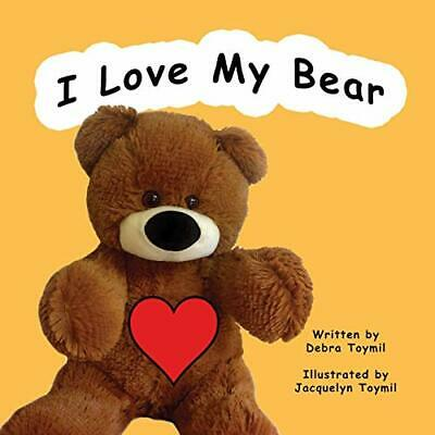 Toymil Debra-I Love My Bear BOOK NEUF • 12.30£