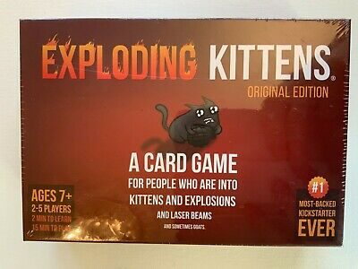 AU27.53 • Buy Exploding Kittens - Original Edition (Card Game)