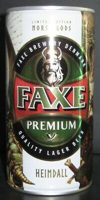 $ CDN13.36 • Buy NEWEST! Beer Can - Faxe Premium - 900 Ml - 2020 - Russia - Norse Gods #2