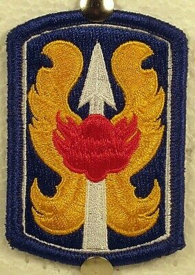 US Army 199th Infantry Brigade Patch Insignia Badge Full Color  • 3.92£