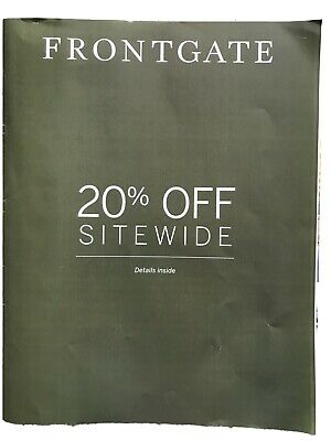 $99.95 • Buy (x1) Frontgate Coupon 20% Off For Online Purchase Only Fast Shipping Exp 8/24