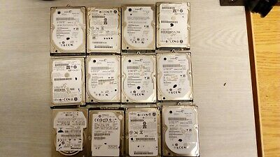 $ CDN78.12 • Buy 12X 120 GB HARD DRIVE HDD  Mixe Brand Toshiba WD Black Seagate No Bad Sector Lot