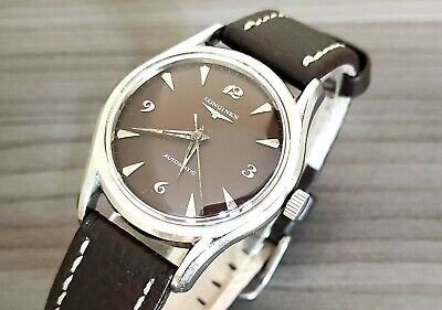 $ CDN328.95 • Buy 1960's VINTAGE LONGINES 17J S/S AUTOMATIC MENS WATCH 6536 1/937 CAL.19AS