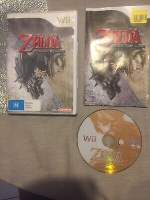 AU19.99 • Buy The Legend Of Zelda Twilight Princess - For Nintendo Wii - Complete With Manual