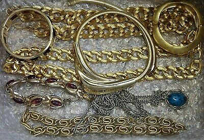 $ CDN38.70 • Buy Vintage To Now Jewelry Lot - Wearable - Medium Flat Rate Box Full - 10 Lbs