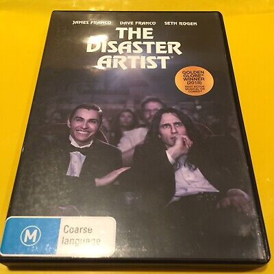 AU8 • Buy The Disaster Artist James Franco True Story Movie Dvd Free Shipping