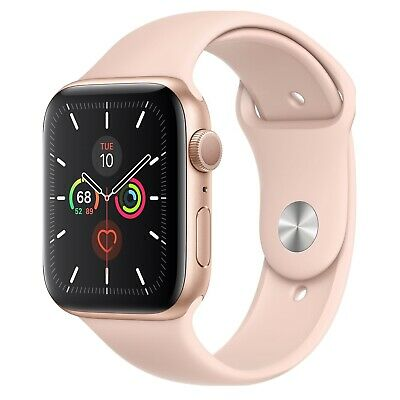 $ CDN107.06 • Buy Apple Watch Series 1 38mm Aluminum Case Pink Sand Sport Band Smartwatch -...