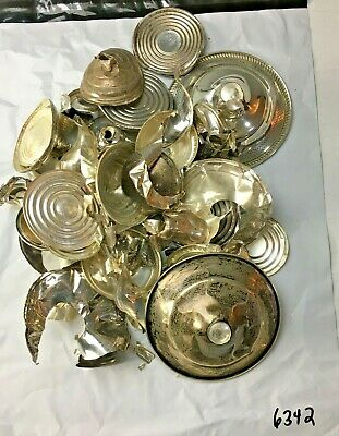 $ CDN298.57 • Buy Sterling Silver Scrap .925 378 Grams Lot Not Weighted FREE SHIPPING TOO!