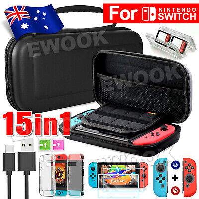AU25.95 • Buy For Nintendo Switch Travel Carrying Case Bag Screen Protector Cover Accessories