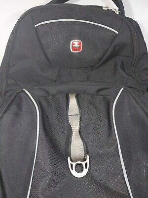 Swiss Gear Airflow Back Pack Black Multi Compartments Lap Top Sleeve Padded • 19.85£