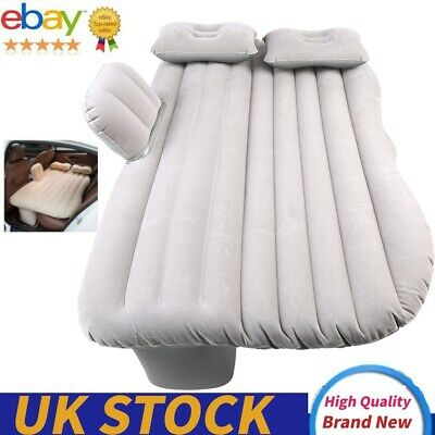 £20.72 • Buy Inflatable Car Bed Back Seat Mattress Air Airbed Sleep+Pump/2 Pillow Portable