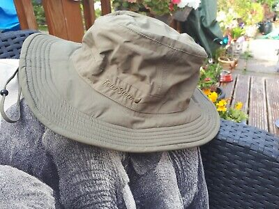 Khaki Peter Storm Unisex Jungle Ranger/ Floppy Sun Hat/fishing S/m • 9.99£