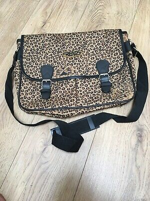Frenzy Hand Luggage/Work Satchel-Leopard Print-Unused-Several Handy Compartments • 8£