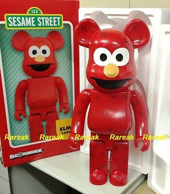 $1385.99 • Buy Medicom 2016 Be@rbrick Sesame Street 1000% Elmo Bearbrick 1pc