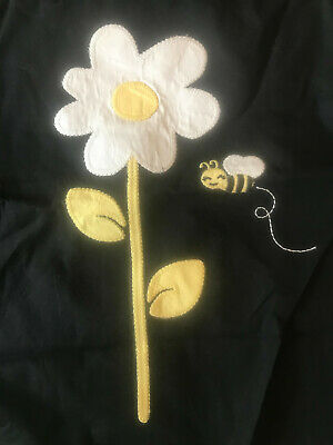 $23.30 • Buy NWT Gymboree Bees Bee Applique Bee Chic Dress Up  Tank Top Shirt Black 4t 4