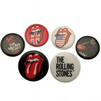 £3 • Buy The Rolling Stones Button Badge Set