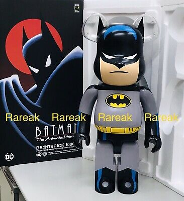 $3388.99 • Buy Medicom 2019 Be@rbrick DC Comics Batman The Animated Series 1000% Bearbrick 1pc