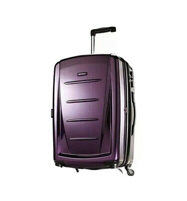 View Details Samsonite Winfield 2 Hardside Expandable Luggage With Spinner Wheels, Purple • 120.00$