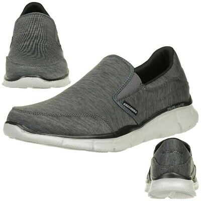 Skechers Equalizer Forward Thinking Men's Slippers Moccasin Slip On Grey • 55.66£