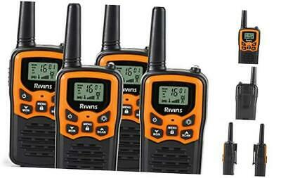 $ CDN81.32 • Buy Rivins RV-7 Walkie Talkies For Adults Long Range 4 Pack 2-Way Radios Up To 5 Mil