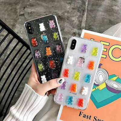 AU7.96 • Buy Hot Candy Bear Fashion Girl Cute Cartoon Silicone Case Cover For Various Phone