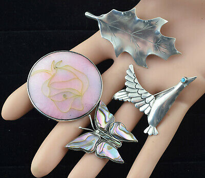 $ CDN36.99 • Buy Vintage Sterling Silver Brooch Lot # 3897