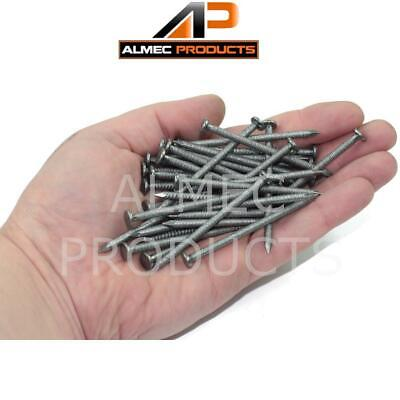 £2.99 • Buy 100g Annular Ring Shank Nails 40mm, 50mm Or 65mm Self Colour Internal Use