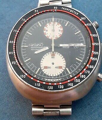 $ CDN722.37 • Buy Vintage 70's Stainless Seiko 6138-0017 Automatic Day Date Yachtman Chronograph