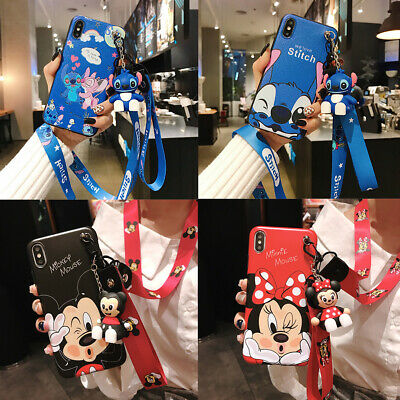 AU7.97 • Buy For OPPO Classic Cartoon Stitch Popular Lanyard Hot Cute Girl Phone Case Cover