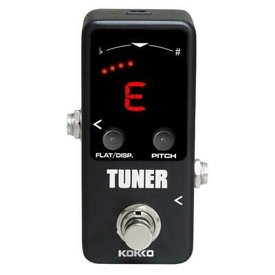 $ CDN34.31 • Buy KOKKO Mini Pedal Bass Guitar Tuner High Precision Guitar LED Display Tuners H1