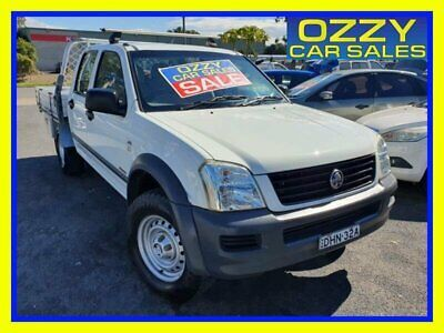 AU9999 • Buy 2006 Holden Rodeo RA MY06 Upgrade LX White Manual 5sp M Crew Cab P/Up