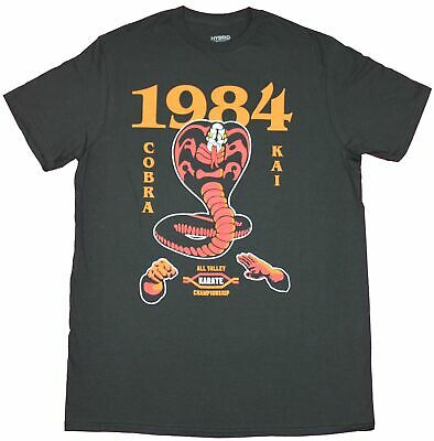 $18.99 • Buy Karate Kid Mens T-Shirt  - All Valley Tournament 1984 Cobra Image