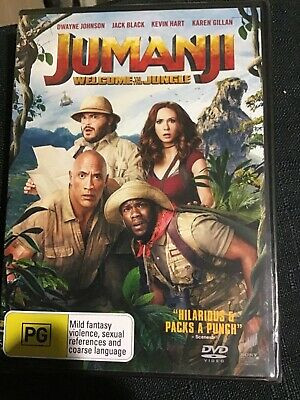 AU10 • Buy Jumanji Dvd (2017) New & Sealed- Free Postage! Region 4