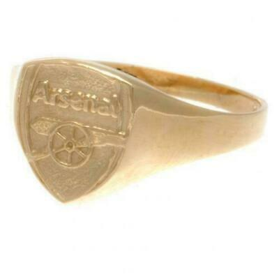 £260 • Buy Arsenal FC 9ct Gold Crest Ring Small